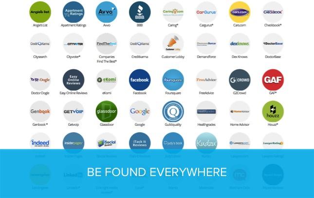 Be found everywhere
