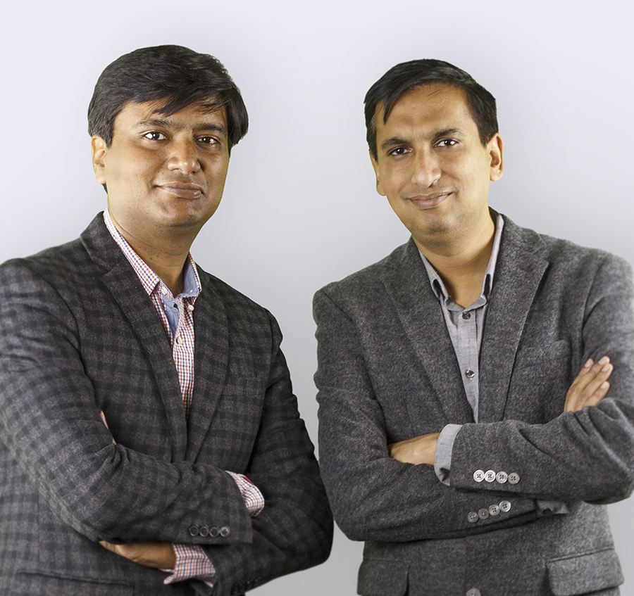 BirdEye founders Neeraj Gupta and Naveen Gupta